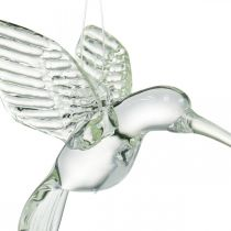 Decoratie kolibrie, glasdecoratie, paradijsvogel, glazen hanger, decoratie vogel