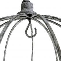 Decoratieve kroon om op te hangen Ø33,5cm H31,5cm