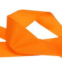 Cadeau- en decoratielint 40mm x 50m oranje