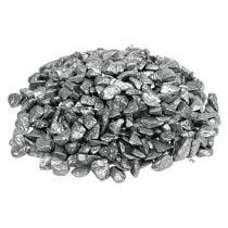 Sierstenen 9mm - 13mm 2kg zilver