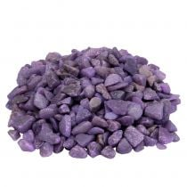 Sierstenen aubergine 9mm - 13mm 2kg