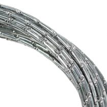 Diamant aluminiumdraad zilver 2 mm 10 m