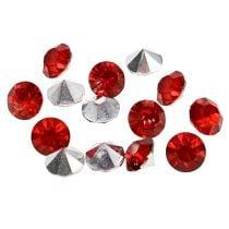 Diamant acryl 8 mm rood 50 g
