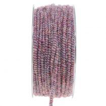 Glamour paarse lont draad met 33m draad