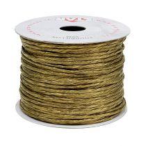 Draad gewikkeld rond 50m goud