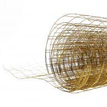 Draadgaas goud 35cm 5m