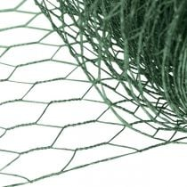 Zeshoekig gaas groen draad PVC-gecoat gaas 50cm × 10m