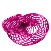 Spaakwielen Roze Ø4.5cm 6st