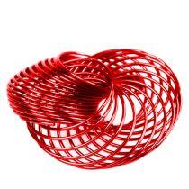 Spaakwielen rood Ø4,5cm 6st