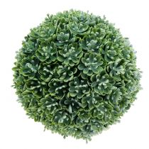 Echeveria-bal kunstgroen Ø18cm