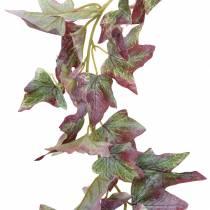 Ivy guirlande groen, bordeaux 182,5 cm