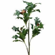 Eikenbladtak met eikels kunstmatig 90cm