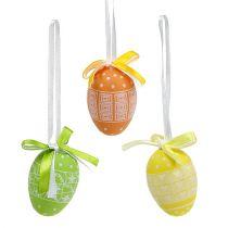 Eieren om op te hangen plastic 5cm 27st