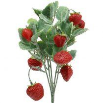 Aardbeienprikker rood L30cm