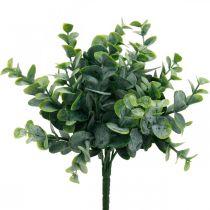 Kunstmatige eucalyptus bruiloft decoratie eucalyptus takken groen H26cm