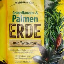 FRUX groene plant en palmaarde 18l