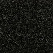 Kleur zand 0,5 mm zwart 2 kg