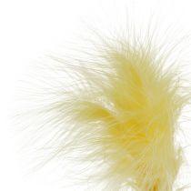 Veer op de stang L 30cm geel 12st