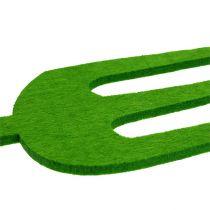 Vilt tuingereedschap groen 4st