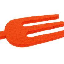 Vilt tuingereedschap oranje 6st
