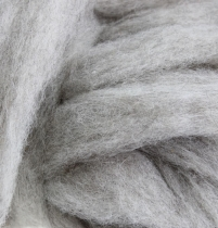 Wolzekering 10m grijs