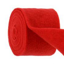 Viltlint 15 cm x 5 m rood