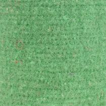 Viltband potband lichtgroen 15cm 5m
