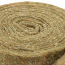 Pot tape vilt tape groen met stippen 15cm x 5m