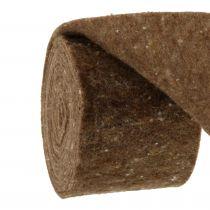 Viltband, potband bruin 15cm 5m