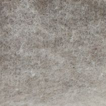 Viltband, potband grijs-naturel 15cm 5m