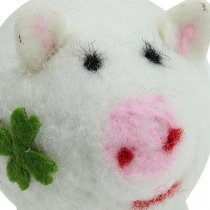 Lucky Pig voelde 7cm 3st