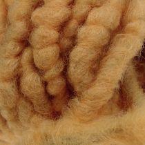 Vilten koordfleece Mirabell 25m naturel