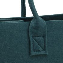 Viltentas blauw grijs 40cm x 20cm x 25cm