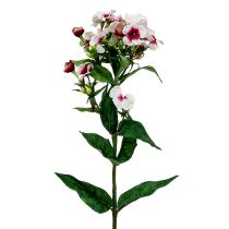 Vlam bloem wit 72cm