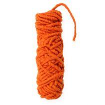 Vilten koordfleece Mirabell 25m oranje