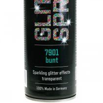 Glitterspray voor het maken van kleurrijke spuitverf klatergoud 400ml