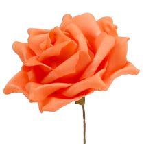 Foam Rosen Oranje Ø15cm 4st
