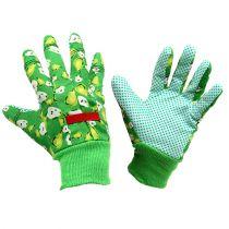 Kixx dameshandschoenen maat 8 groen met motief
