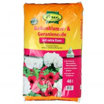 FRUX balkonbloem en geranium aarde 40l
