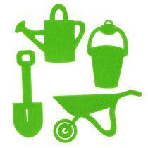 Tuingereedschap voelde groen 24st