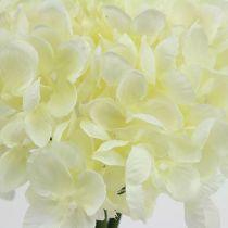Hortensia bos kunstbloemen wit L27cm