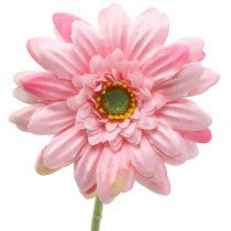 Gerbera roze kunstmatig 47cm 12st