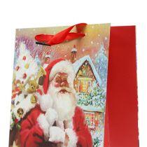Kerstman cadeautas 32cm x 26cm x 10cm