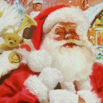 Geschenktasje Kerstman 24 cm x 18 cm x 8 cm