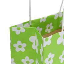 Gift bags groen 20cm x 11cm x 25cm 8st