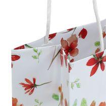 Gift bags met bloemen 25 cm x 20 cm x 11 cm 6 stks