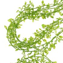 Plantenslinger met bessengroen L122cm