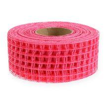 Grid tape 4,5 cm x 10 m roze