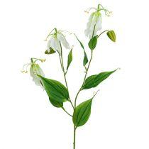 Gloriosa wit kunstmatig 84cm 3st