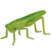 Sprinkhaan groen 11cm 1 st